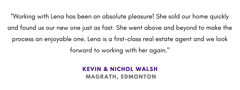 First class realtor Edmonton Lena Mills Realtor Review